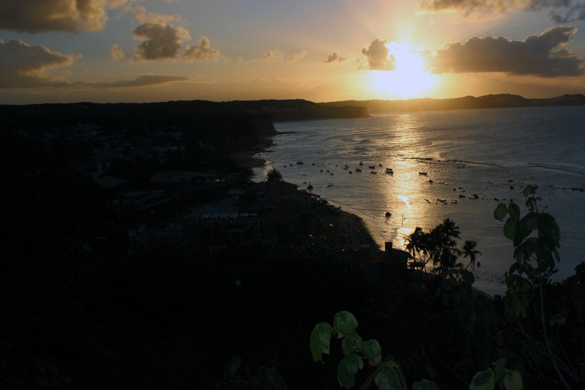 Západ slunce v Brazílii